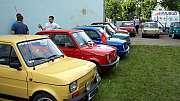 """Zlot Fiata 126p czyli Maluchy i """"Maluchy"""""""