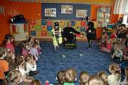 Policjanci dla bezpiecznego przedszkolaka